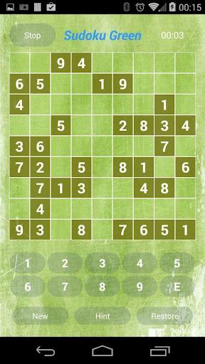 【免費解謎App】Sudoku Green-APP點子