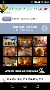 Casas Rurales en Zonas Rurales- screenshot thumbnail