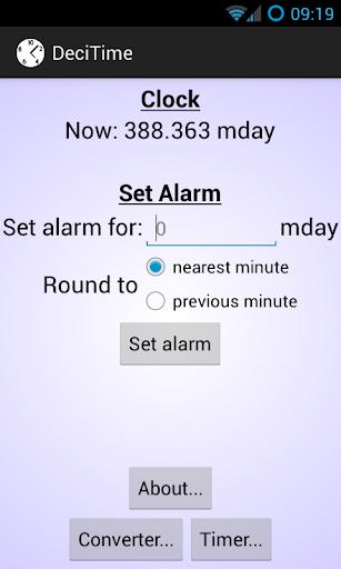 DeciTime App Widget
