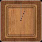Cool Wood Clock Widget (FREE)
