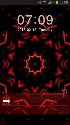 GO Locker Theme Red儲物櫃主題紅色黑色
