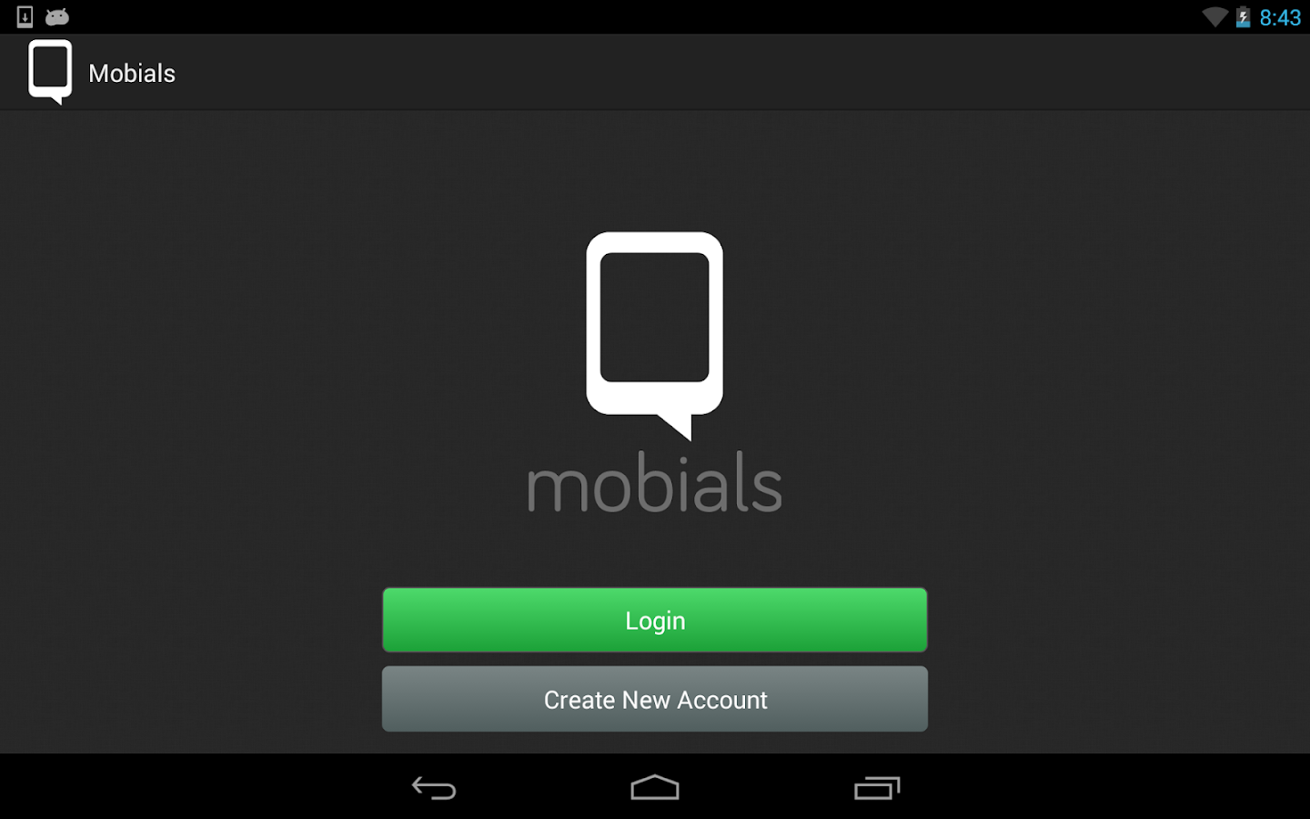 Mobials- screenshot