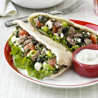 Beef & Spinach Gyros
