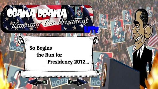 Obama Drama Lite - Running for - screenshot thumbnail