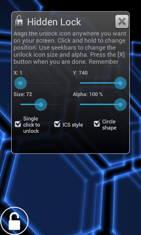 Hidden Lock Pro- screenshot