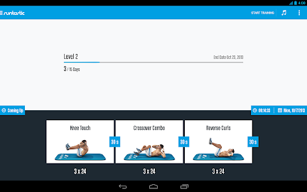 Runtastic Six Pack Abs Workout Screenshot 24