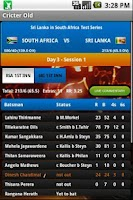 Screenshot of Cricter: Cricket Live Scores