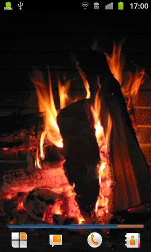 火災現場壁紙