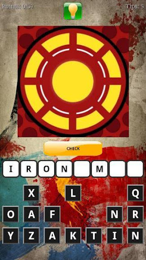 Guess the Superhero Logo Quiz Screenshot