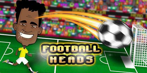 Football heads soccer stars