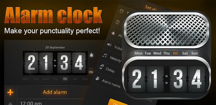 Alarm Clock + Beautiful Widget v1.0 Apk