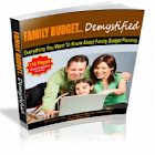 Family Budget Demystified icon