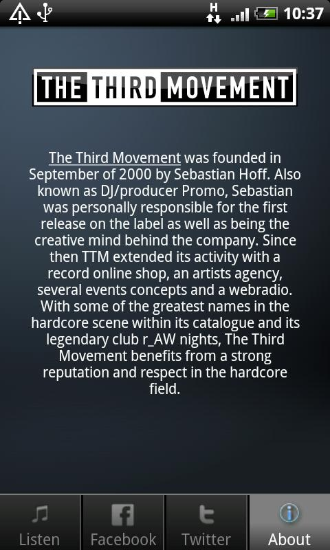 The Third Movement - screenshot