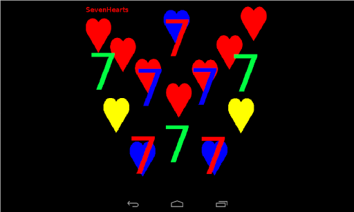 【免費博奕App】Seven Hearts-APP點子