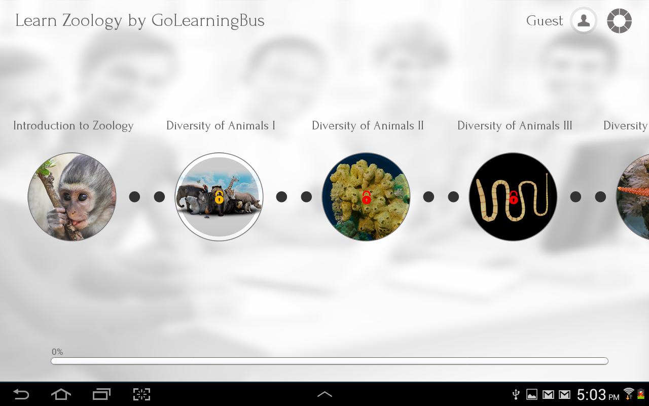 Learn Zoology by GoLearningBus - screenshot