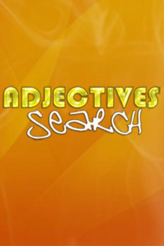 Adjectives Search