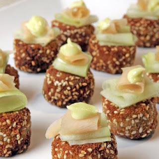 Mini Asian Crab Cakes.