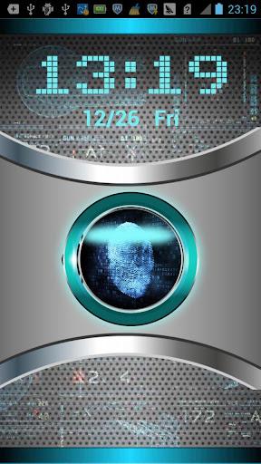 Fingerprint Lock Screen-Prank