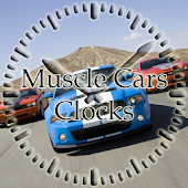 MC Soft Muscle Cars Clocks