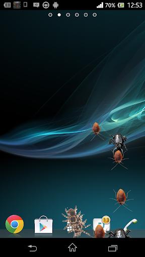 Araignée dans l' ecran