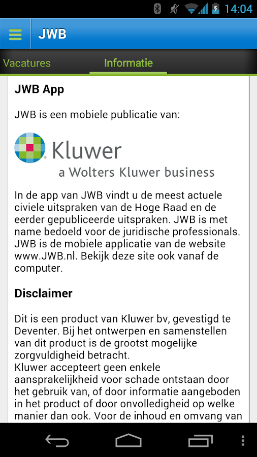 JWB: screenshot