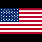 USA Flag Sticker icon