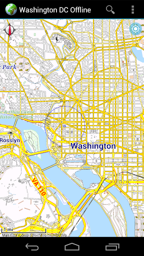 Offline Map Washington DC