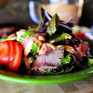 Chipotle Steak Salad.