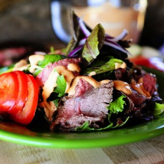 Chipotle Steak Salad.