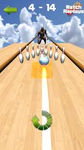 Bowling Puzzle - throw balls - náhled