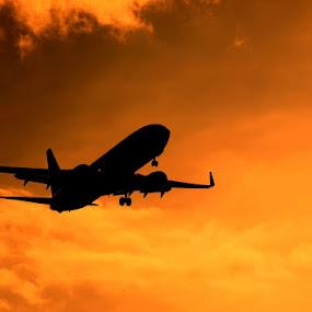 by Awang Kassim - Transportation Airplanes