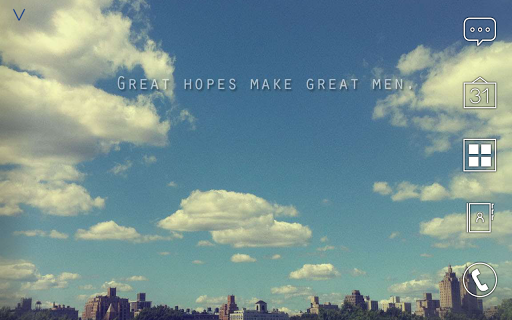 Great hopes make great men 아톰