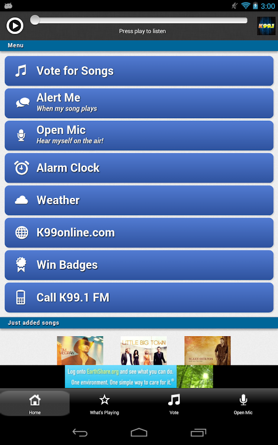 K99.1FM - screenshot