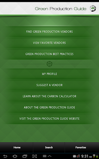 Green Production Guide