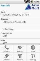 Screenshot of Horus monitoring access