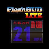 Flash HUD Speedo