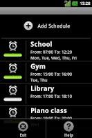 Screenshot of Silence Scheduler Free