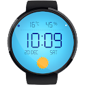 Weather Clock HD Watch Face