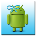 ADW Theme MissDroid Blue logo