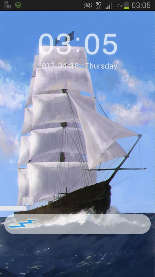 GO Locker Theme Sea Ship- screenshot