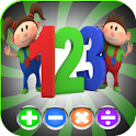 Kids Numbers and Maths Free logo