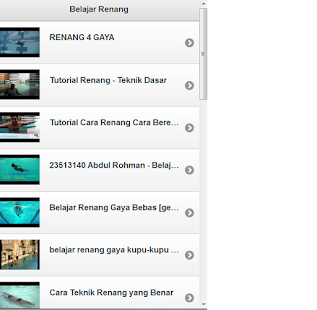 Tutorial Renang- screenshot thumbnail