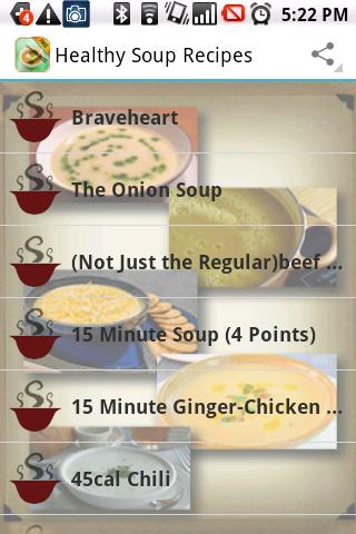 Soup Recipes Healthy Delicious