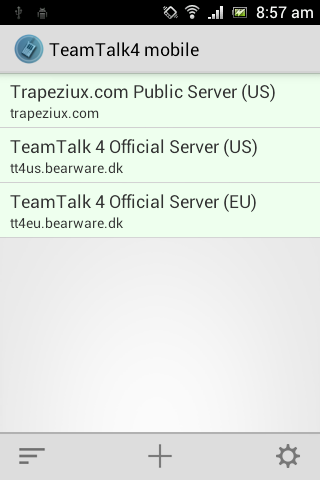 TeamTalk4 mobile