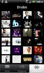drake ringtones and wallpapers - screenshot thumbnail