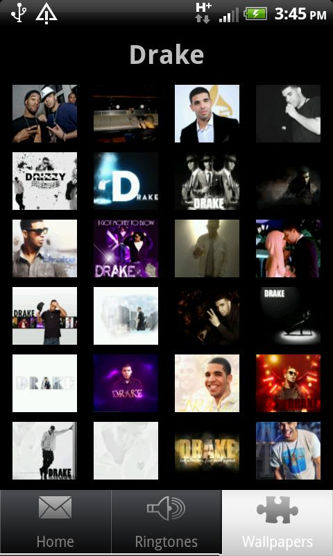 drake ringtones and wallpapers - screenshot
