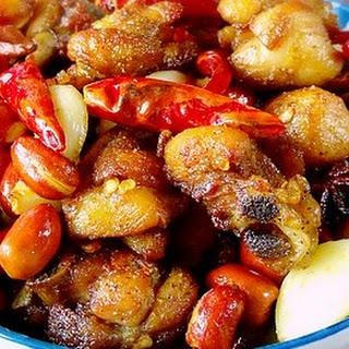 Chinese Chicken Chili (la zi ji)