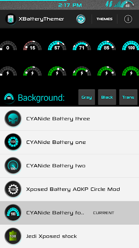 XPOSED Battery CYANide Four