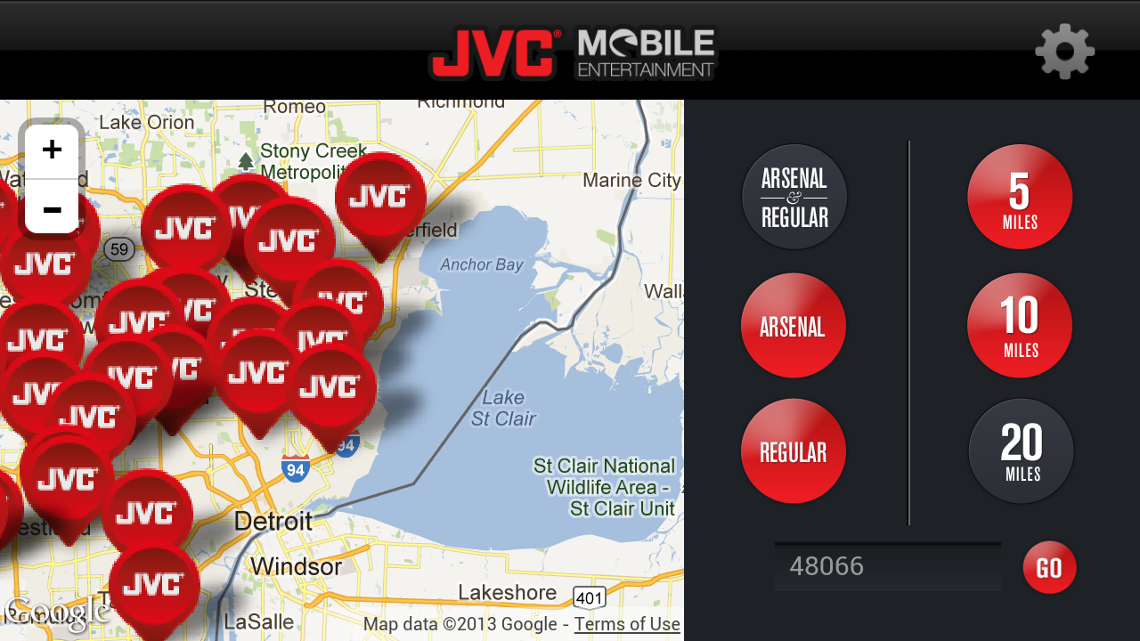 JVC Mobile Plugged-In - screenshot