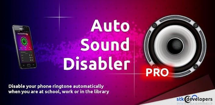 Auto Sound Disabler PRO apk